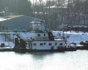 M/V Blanche V ❖ BUILT 1982 Iowa Marine Repair • 60' X 24' 1000 HP • St. Louis