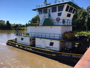 M/V Legacy Provider ❖ BUILT 2013 R&R Boat • 74' X 30' 2000 HP • Cape Girardeau
