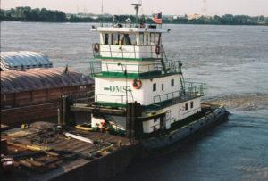 M/V Jackie Sue ❖ BUILT 1976 Rayco Shipbuilders 70' X 26' • 1880 HP • St. Louis