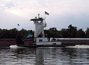 M/V Capt. Elmer ❖ BUILT 1975 AlumaShip • 56' X 20' • 680 HP • Hennepin