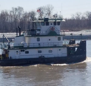M/V Jim H ❖ BUILT 1999 Hope Services Shipyard • 72' X 30' • 2000 HP • St. Louis